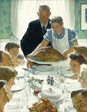 Norman Rockwell - Thanksgiving Home