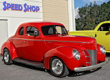 Ford Deluxe Coupe 1940 hot rod