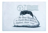 "Art tumblr lustik ""Letters sent by Edward Gorey to his editor"" """