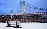 Winter snowy city1