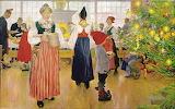 Enfants et Noël~ Carl Larsson