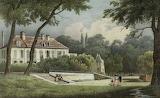 Le château d'Issou, 1820, cote 17Fi23