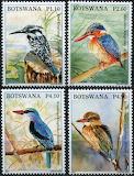 Beautiful Bird Stamps of Botswana