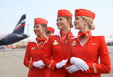 2018 Uniforms Aeorflot Russia by Mikhail Pochuyev HuffingtonPost