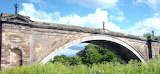 Grosvenor Bridge, Chester, UK