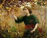 A-Golden-Dream-by-Thomas-Cooper-Gotch