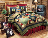 ^ Bedroom at the cabin