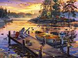 Morning Paradise By Darrell Bush