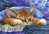 Irina Garmashova 'Blue Fabric'