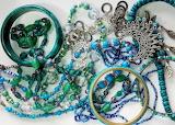Beads 3 - Aqua tones
