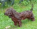 Wicker Dog