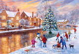 ^ Bourton-on-the-Water Christmas ~ Terry Harrison