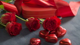 Roses- chocolate - gift