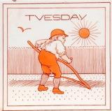 Tuesday tile by Mrs Ellen E Houghton for Minton
