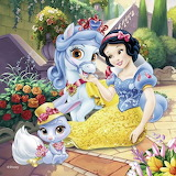 Snow White and Her Pets