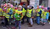 Spring walk of preschoolers