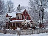 Victorian House ~ Winter