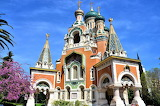 Russian Orthodox church in Nice