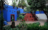 ^ Frida Kahlo's Mexico City house