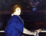 George Bellows, Emma at the Piano , 1914