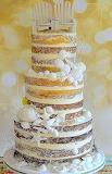 Beach wedding cake @ Pour Femme