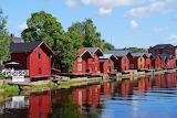 Porvoo, Wooden houses, Finland