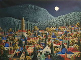^ Battery Point to Mt. Wellington ~ George Callaghan
