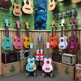 various guitars