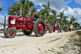 tractor parade, Belize