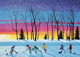 Winter Art by Bill Brownridge...
