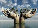 Island of Hands!