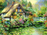 House on Waterlily Lane by Jim Mitchell