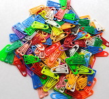 #Colored Paper Clips