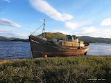 Abandoned ship, Scotland