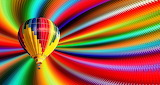 Colours-colorful-rainbow-stripes-hot-air-balloon