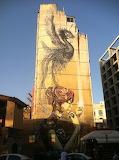Thessuloniki Greece Mural