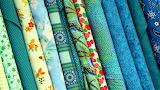 Fabric Blues & Greens