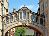 Bridge of Sighs, Oxford UK
