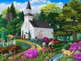 Beautiful chapel gardens - Joseph Burgess