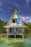 House on stilts Bocas Del Toro Panama