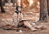Writing Young Native American Woman