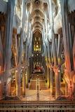 Interior Sagrada Família, Catalunya