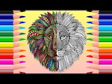 Mandala leon
