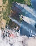 """Space ESA """"Smoke and flames"""" Australia"""