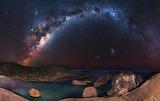 Stargate over Elephant Rocks In Australia