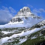 Mount Reynolds, Glacier National Park, Montana...