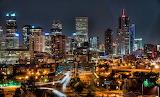 Denver Night Skyline