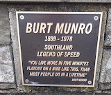 Burt Munro Plaque