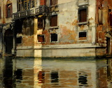 The Grimani Palace, Venice by Alberto Pasini