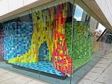 Colourful Window Installation